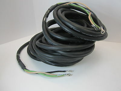 New - Carol 83 Type S00w 90c P-7k-123033 Msha 600v 20 Meter Power Cable