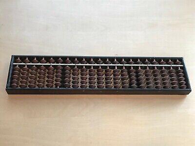 21 Digit Traditional Vintage Wooden Japanese Soroban Abacus