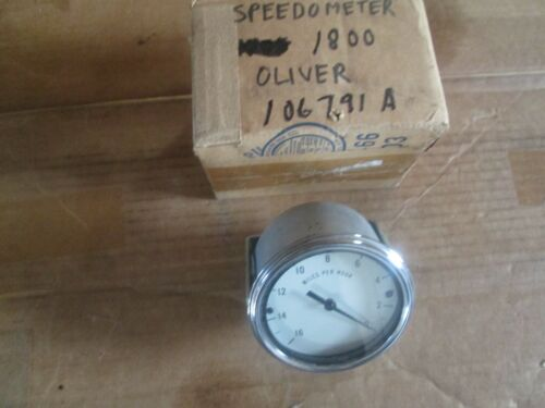 Oliver tractor 1800A BRAND NEW speedometer NOS