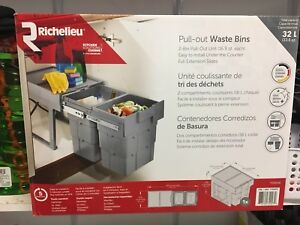 Pull out waste bins