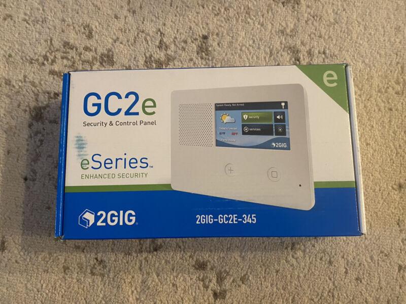 NEW! 2GIG-GC2E-345  Security Alarm & Control Panel
