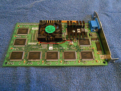 Avid Technology 281 30053 001 Pci Diamond Fire Gl1 Video Card  Used