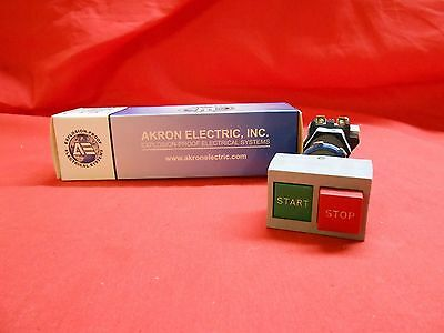AKRON ELECTRIC  XPDBL-FGERC  DUAL (START/STOP) EXPLOSION-PROOF SWITCH