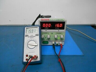 Volteq Hy1503d 15v 3a Regulated Adjustable Linear Dc Power Supply