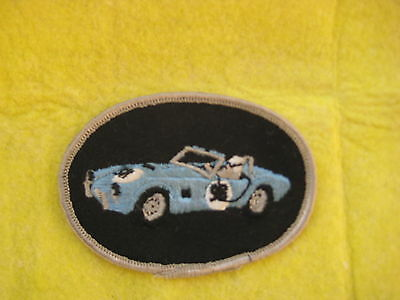 """Vintage Ford AC Cobra Racing  Patch  3 1/2  """" X  2 1/2 """""""