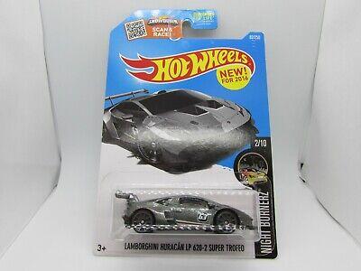 Lamborghini Huracan LP 620-2 Super Trofeo Hot Wheels 1:64 Scale Diecast Car