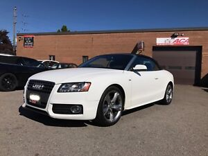 2010 Audi A5 S-line Convertible