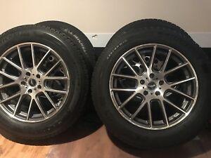 235 60 18 Michelin winter tires