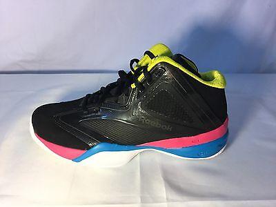 e4366baafd7e Reebok The Pump Revenge V 54937 BLCK B Men s Basketball Shoes Size 11