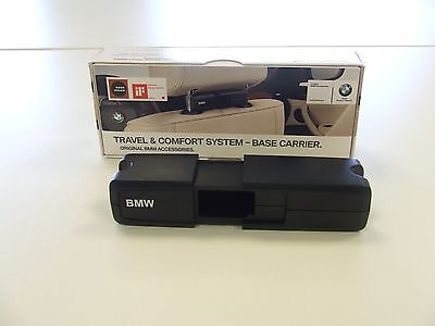 Genuine BMW Travel and Comfort Base Carrier for Headrest Attachments UK NEW