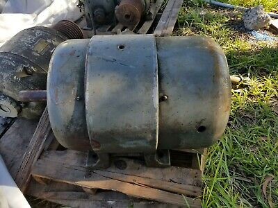Used Howell Electric Motors Co. 20hp 732r 2 220v 440v 3-phase