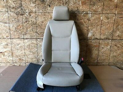 ONLY 54K BMW E90 E91 OEM FRONT PASSENGER RIGHT SIDE INTERIOR POWER CHAIR SEAT