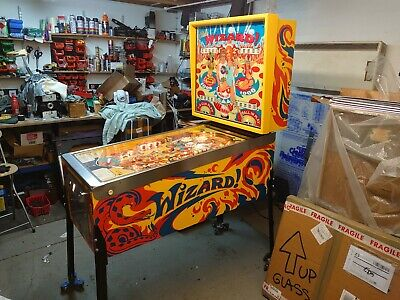 The Who Wizzard Bally Pinball Machine - Memorabilia-  - Stunning - Warrantied