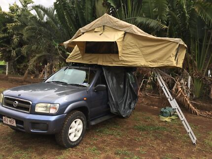 Nissan Pathfinder 4WD with Rooftop tent fully equipped