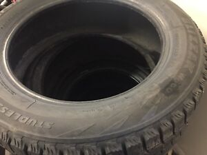 195/60/16 x 2 Bridgestone Blizzark Tires