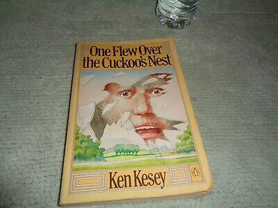 ONE FLEW OVER THE CUCKOO'S NEST BOOK BY KEN KESEY PAPERBACK 1977