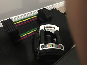 Powerblock Urethane Adjustable Dumbbells (2.5 - 90ibs)