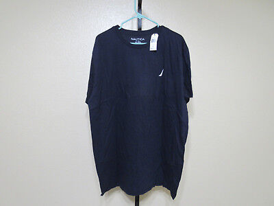 NWT Nautica Mens S/S Graphic T-Shirt-Color-Navy Dusk-Size-XXL-MSRP-$29.50