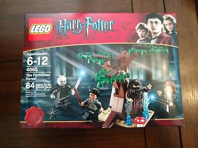 LEGO Harry Potter The Forbidden Forest 4865 NIB