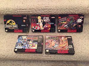 SNES Nintendo games