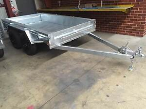 10x5 H/Duty Galvanised Tandem Trailer St James Victoria Park Area Preview