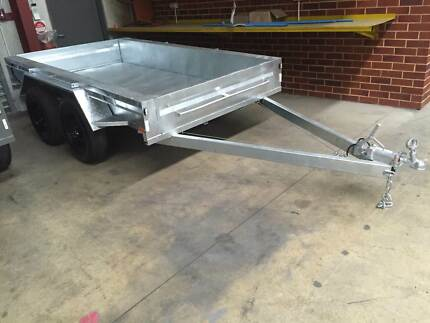 10x5 H/Duty Galvanised Tandem Trailer