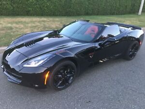 ATTENTION CHASSEUR D'AUBAINE CORVETTE STINGRAY 2019 CONVERTIBLE