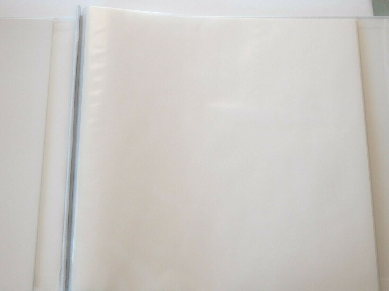 SCRAPBOOK PHOTOGRAPH ALBUM WHITE PHOTO PICTURE FRAME COVER 12X12 LOVE PAGE KIT - $15.64