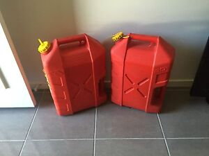 2 x 20L jerry cans Goodna Ipswich City Preview