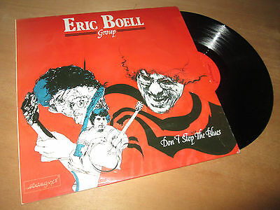 Eric Boell Group Don'T Stop the Blues Manu Katché French Jazz Rock LP 1983