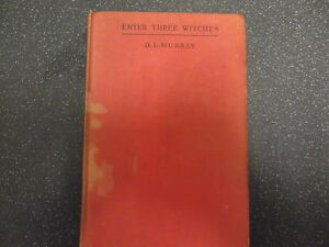 ENTER-THREE-WITCHES-BY-D-L-MURRAY-HB-1947-UK-POST-3-25