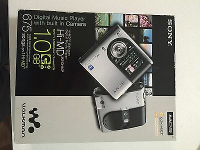 New Sony Hi Md Walkman Player Mz Dh10p Portable Minidisc Camera Md Mp3 Himd