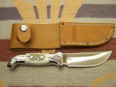 UNCARRIED 6bd SKINNER RUANA BONNER MONTANA SHEATH KNIFE