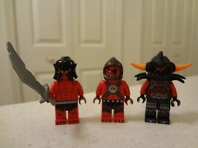 Lego Nexo Knights Lot of 3 Monsters Minifigures