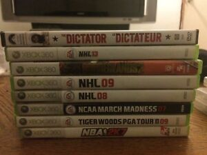 Xbox 360 Games plus One movie. Need gone ASAP!