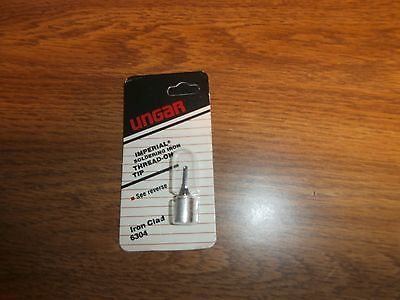 Ungar 6304 Imperial Micro Chisel Soldering Iron Tip,NOS (Iron Chisel Tip)