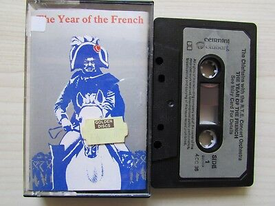 THE CHIEFTAINS 'THE YEAR OF THE FRENCH' CASSETTE, 1982 CLADDAGH, TESTED,