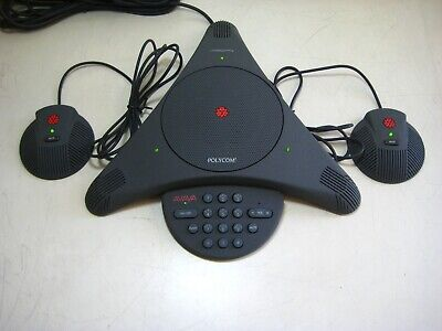 Polycom Soundstation Ex Conference Phone W Power Module 2 Mics
