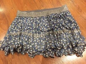 Justice girls skirts size 18