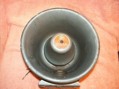Vintage Federal Sign Signal Pa Siren Speaker Model Mm-24 Used Works Good