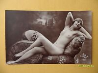 Original 1910's-1920's Postcard Nude Risque Seductive Lady Laying Down 33 -  - ebay.co.uk