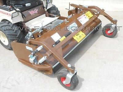 Flail Mower Deck Grasshopper Front Mowers 63 Cut Finish Rough Cut Mower