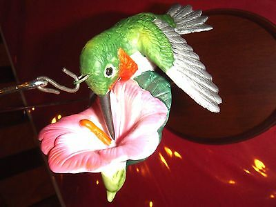 ANDREA HUMMINGBIRD FIGURINE WITH STAND