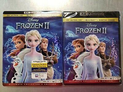 Disney Frozen II 4K Blu-ray Digital Slipcover Brand NEW FREE~First Class!