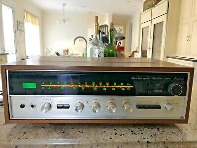 Mint RARE Sansui 2000X Stereo AM/FM Tuner Amplifier Perfect Working Condition