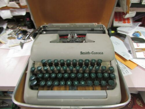 Vintage Smith-Corona sterling Typewriter