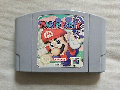 MARIO PARTY Nintendo 64 N64 Game PAL VERSION