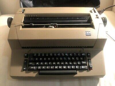 Vintage Ibm Selectric Ii Electric Typewriter Green- Parts Or Repair Only
