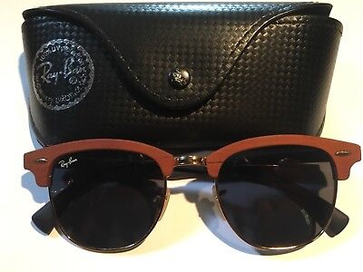 Ray Ban Sonnenbrille Clubmaster Holz  RB 3016-M 1180/R5  51021 3N ORIGINAL !!!