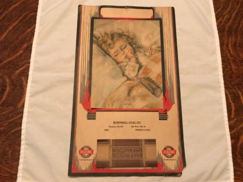 1935 BURNWELL COAL CO. Calendar, READING anthracite, Erie, Pennsylvania